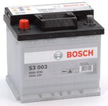 Bosch 0092S30030 - BATERIA 12V 45AH 400A Izq. 207X175X190