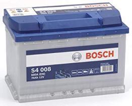 Bosch 0092S40080 - BATERIA 12V 74AH 680A Der 278X175X190